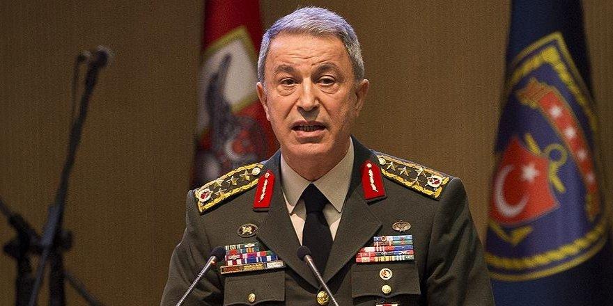 Orgeneral Akar NATO toplantısında Fırat Kalkanı'nı anlattı