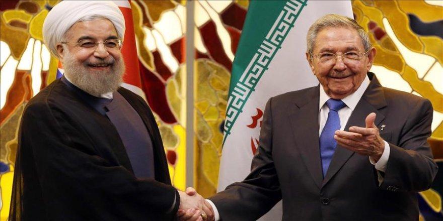 İran Cumhurbaşkanı Ruhani Küba'da