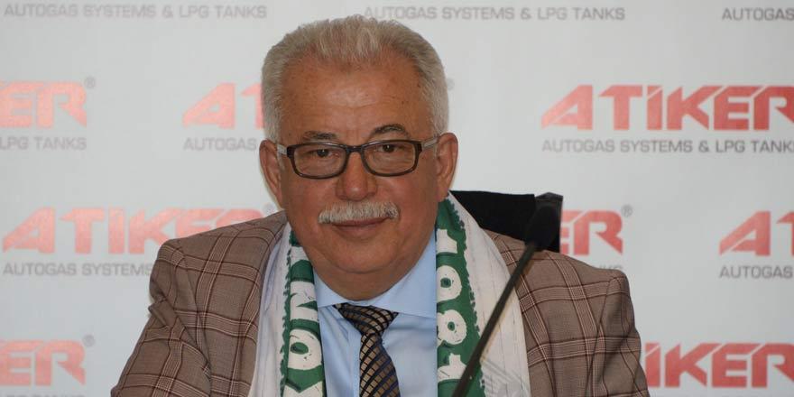 Atiker, Konyaspor başkanlığına aday olmayacak