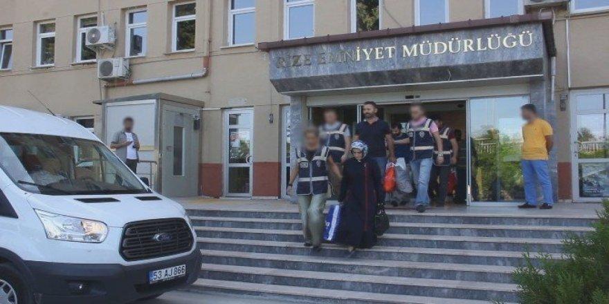 Rize'de FETÖ soruşturmasında 7 tutuklama