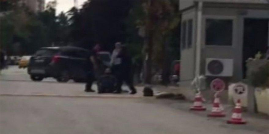 İsrail Büyükelçiliği önünde silah sesleri!