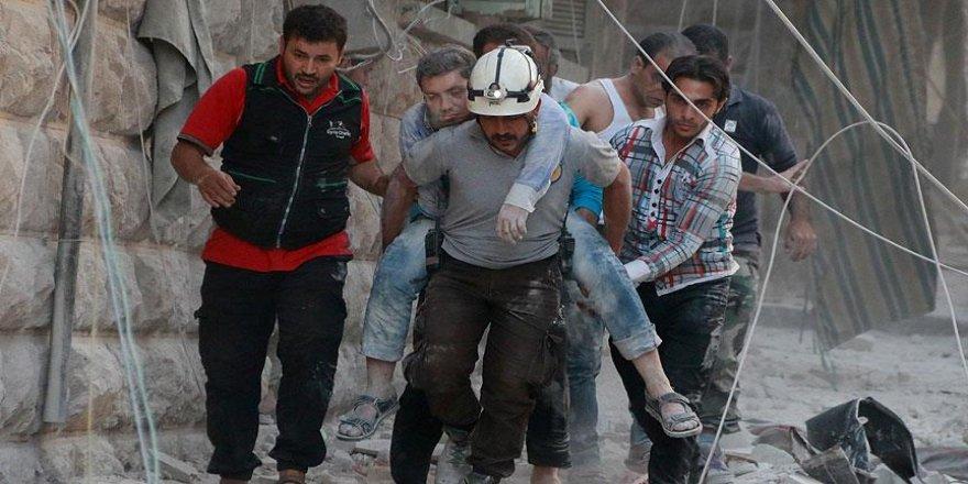 Esed güçleri Halep'te yerleşim yerini vurdu: 4 ölü