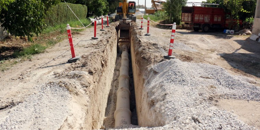 Meram ve Karatay'da kanalizasyon hizmet ağı genişliyor