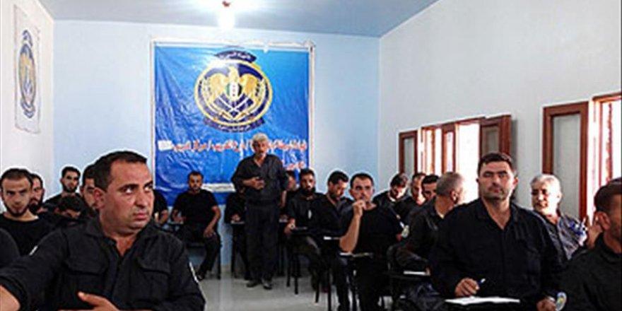 Suriye'de 'Özgür Polis'ten 'sivil polislik' eğitimi