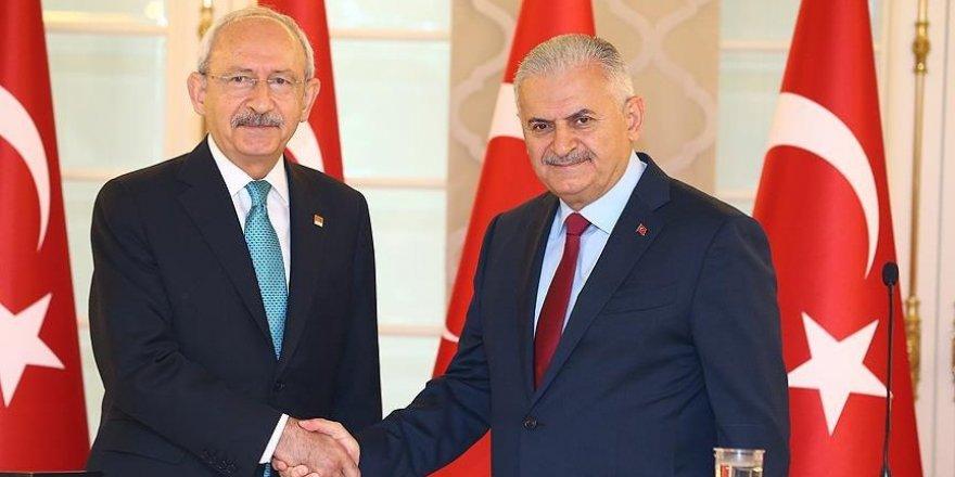 Başbakan Yıldırım, CHP lideri Kılıçdaroğlu ile görüşecek