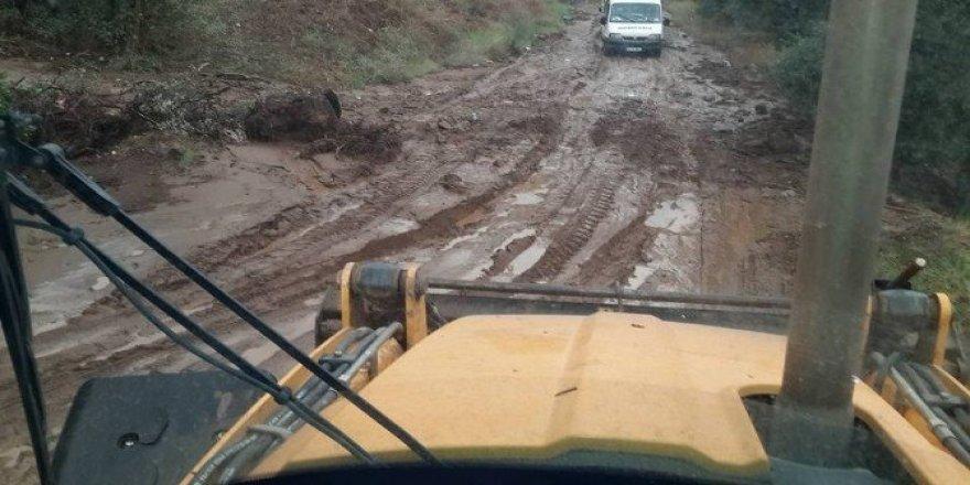 Nazilli'de aşırı yağış sele yol açtı