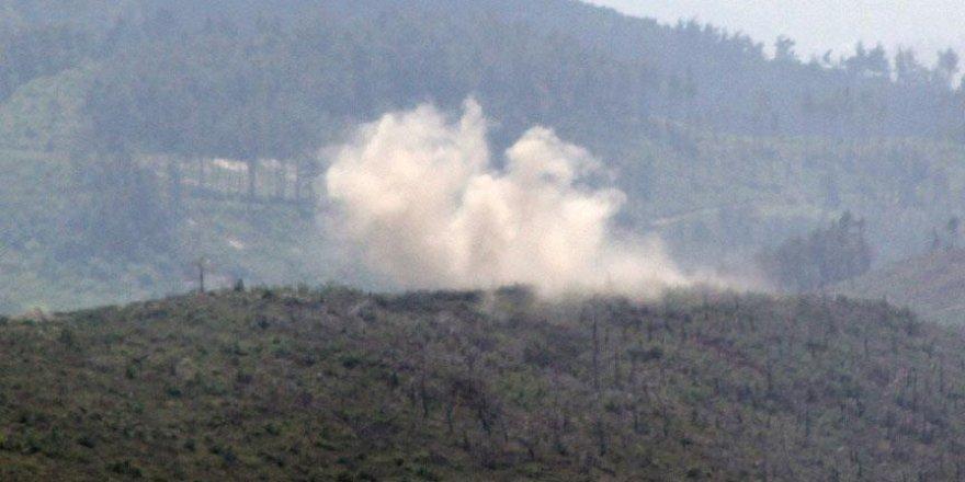 Cebel Ekrad'a hava saldırısı