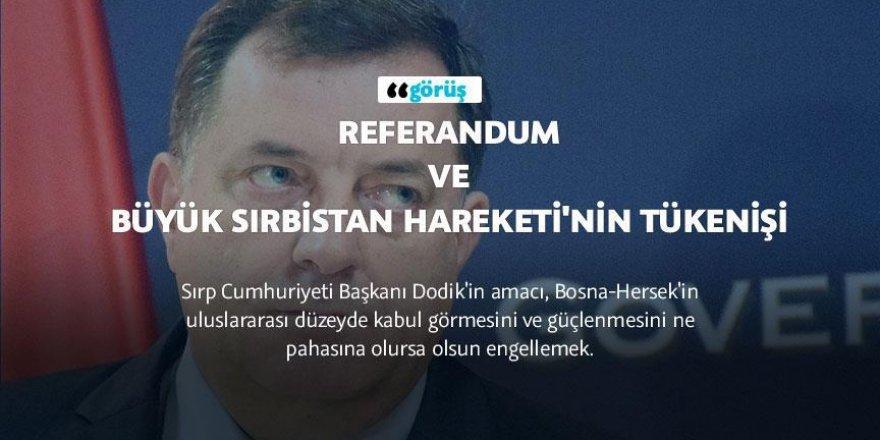 Referandum ve Büyük Sırbistan Hareketi'nin tükenişi