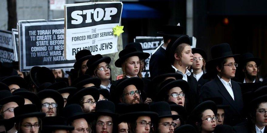 Yahudilerden BM önünde İsrail protestosu