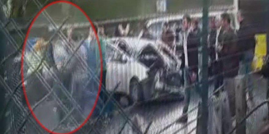 Saldırgan yolcu gözaltında