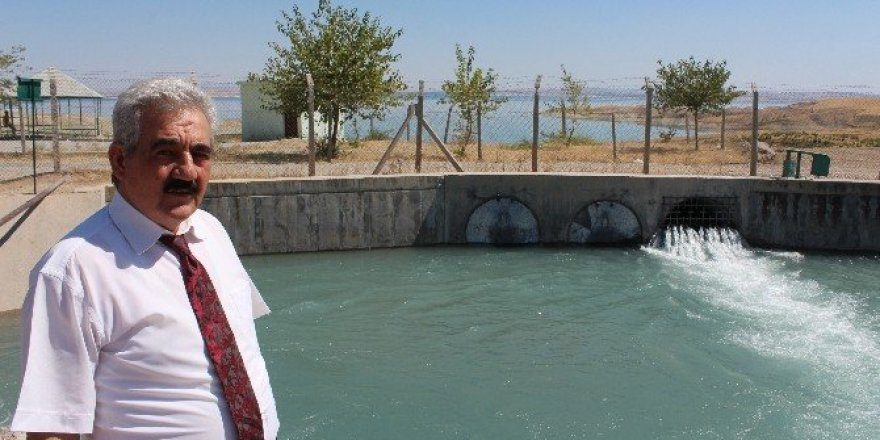Samsat'ın bereketli topraklarının suyla ikinci baharı