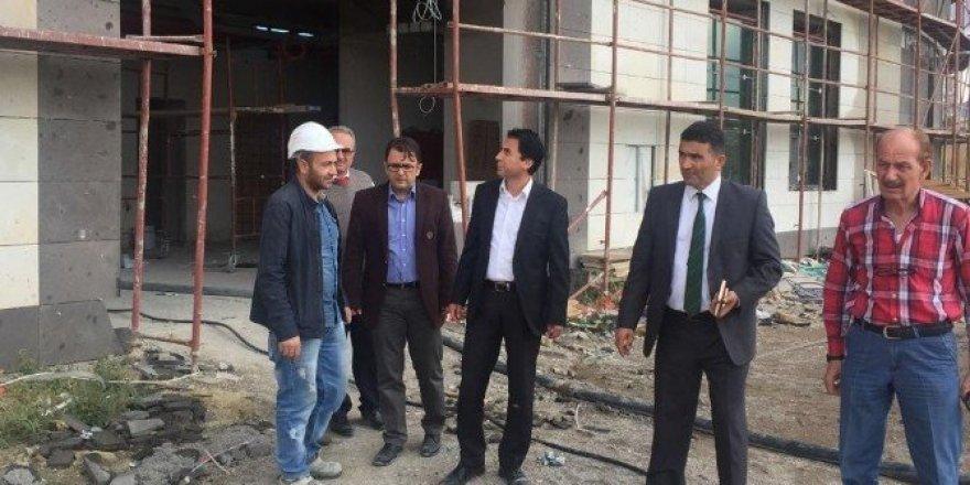 Ürgüp Devlet Hastanesi inşaatında sona yaklaşıldı
