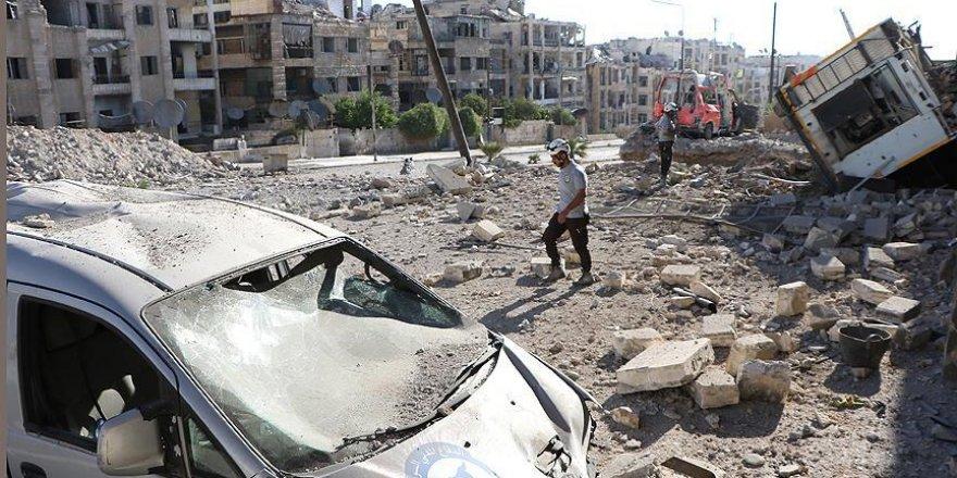 Halep'te sivil yerleşim alanlarına saldırı: 15 ölü
