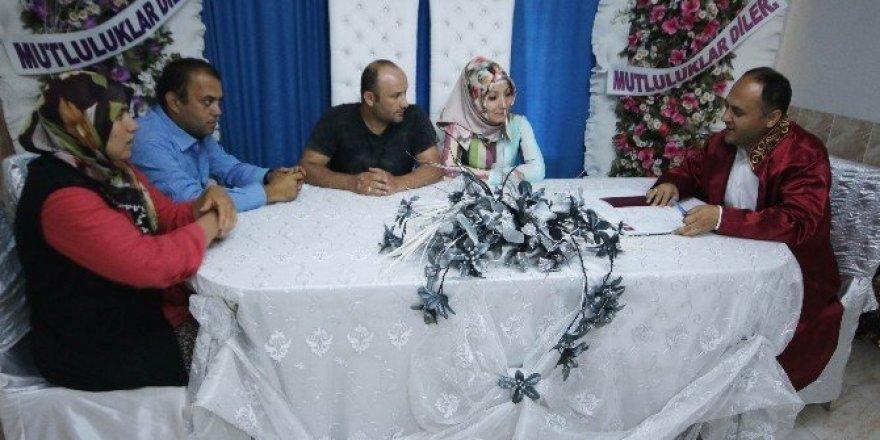 Beyşehir'de 9 ayda 448 çift evlendi