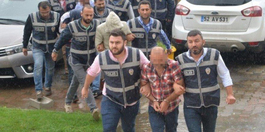 Ordu'da uyuşturucudan gözaltın alınan 11 kişi adliyede