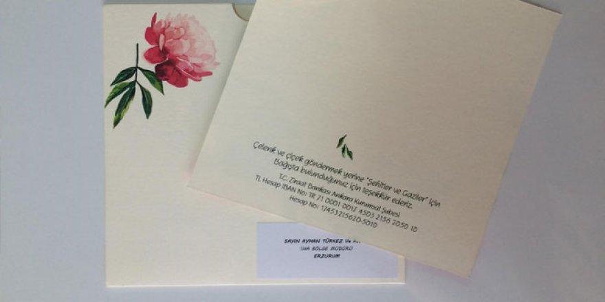 Bakan Akdağ'dan, anlamlı düğün davetiyesi