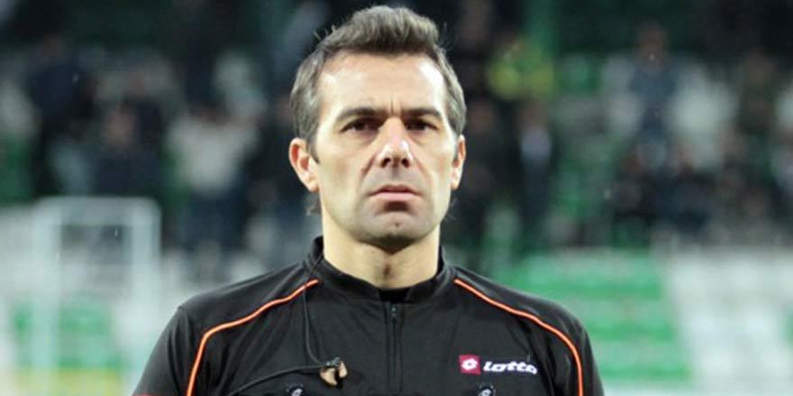 Konyaspor'un hakem Serkan Çınar ile 13.maçı