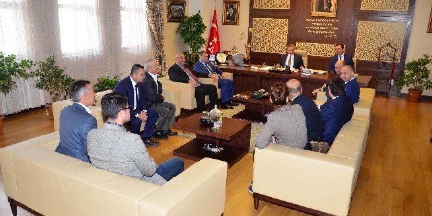 Bulgaristan Dost Partisi'nden Başkan Çetin'e ziyaret