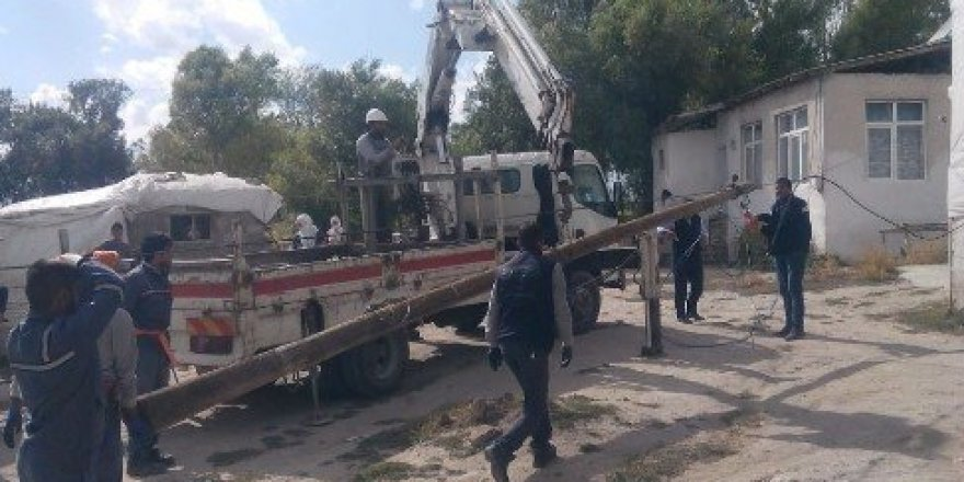 Erzurum'da kaçak elektrik operasyonu