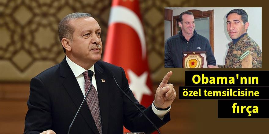 Erdoğan'dan Obama'nın özel temsilcisine fırça: Bir daha yapma