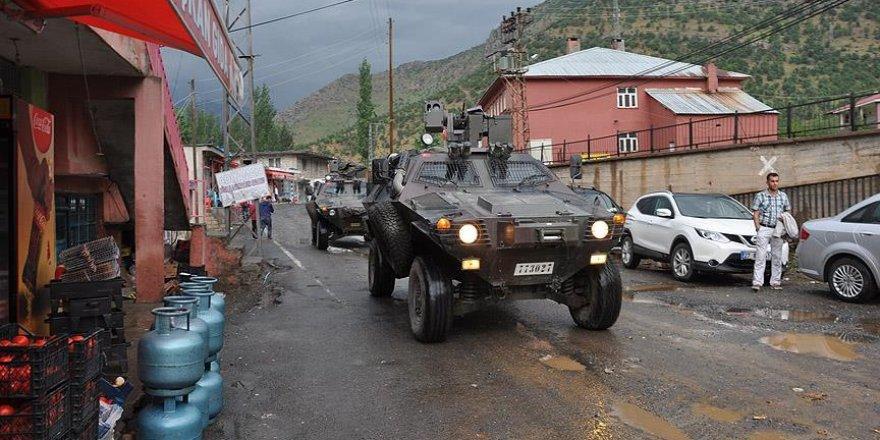 """Beytüşşebap'ta 14 alan """"geçici özel güvenlik bölgesi"""" ilan edildi"""