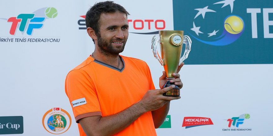 Marsel İlhan TEB İzmir Cup'ta şampiyon