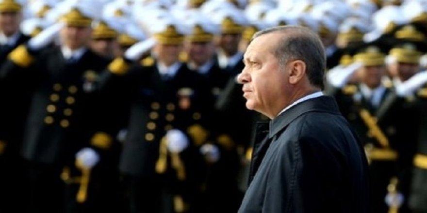 Cumhurbaşkanı Erdoğan'ı karşılayacak 160 asker