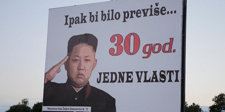 Bosna Hersek'te yerel seçim öncesi ilginç afişler