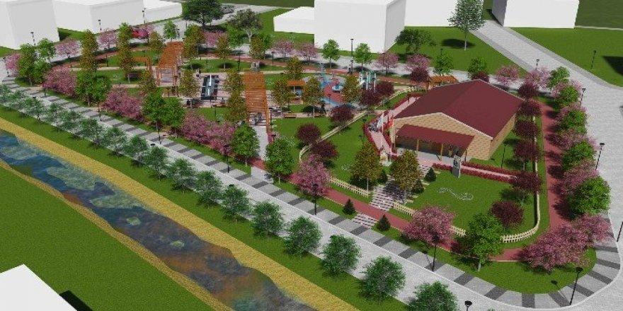 Bir park daha büyükşehirle hayat buluyor