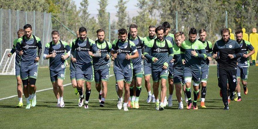 Konyaspor Gent maçı hazırlıklarına başladı