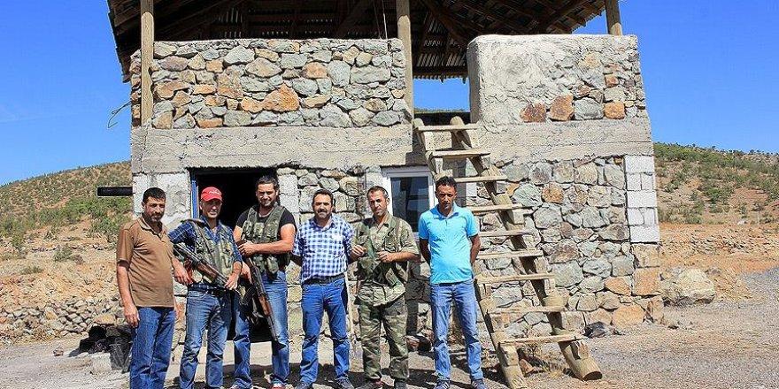PKK terörüne karşı nöbet tutan korucu babalar