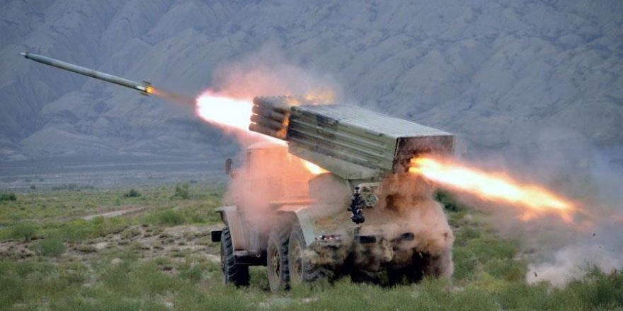 Azerbaycan ordusu tatbikat yaptı