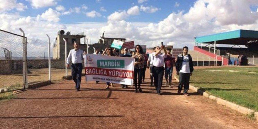 Mardin'de sağlıklı yaşam yürüyüşü