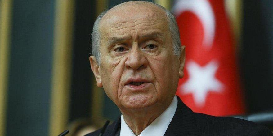 Bahçeli: Türkiye'nin korku tünelinden çıkması gerekiyor