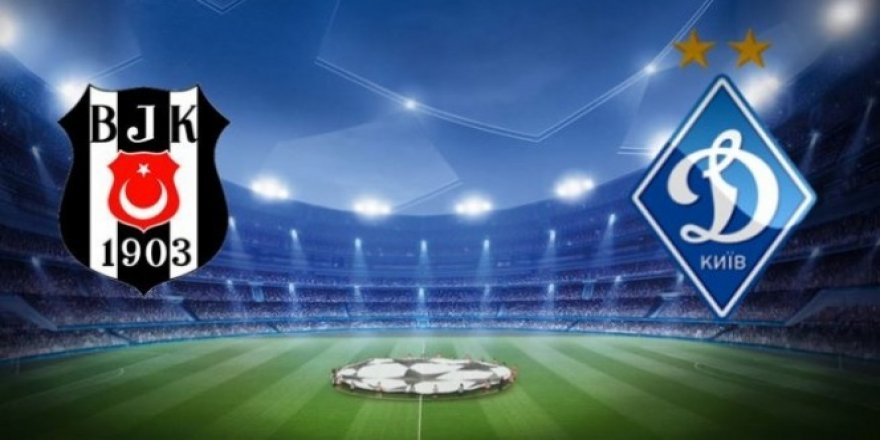 Beşiktaş Dinamo Kiev maçı ne zama, saat kaçta?