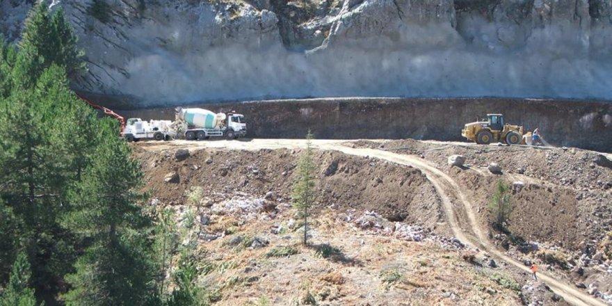 Alacabel tünelindeki yapım çalışmaları sürüyor