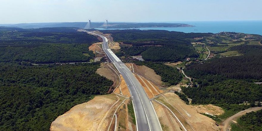 Kuzey Marmara Otoyolu güzergahına 604 bin fidan