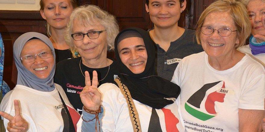 Korkusuz kadınlar Gazze yolunda