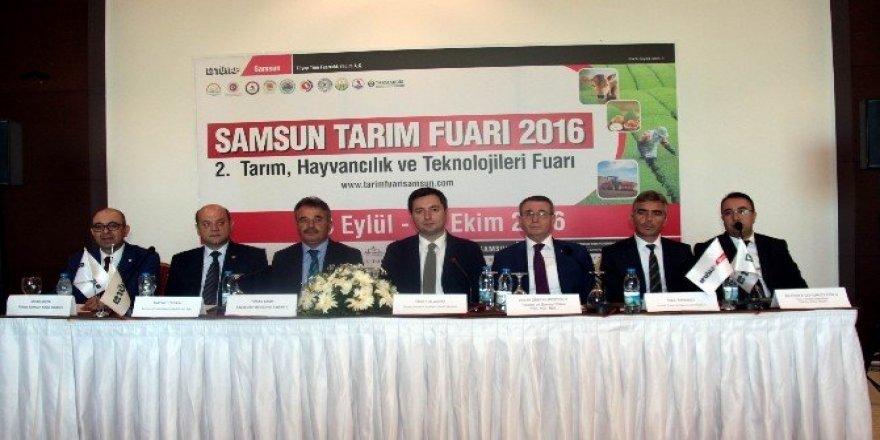 Karadeniz'in en büyük tarım fuarı Samsun'da açılıyor