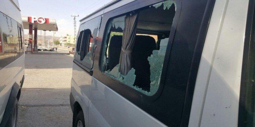 Siirt'te polise atılan roket, eve isabet etti