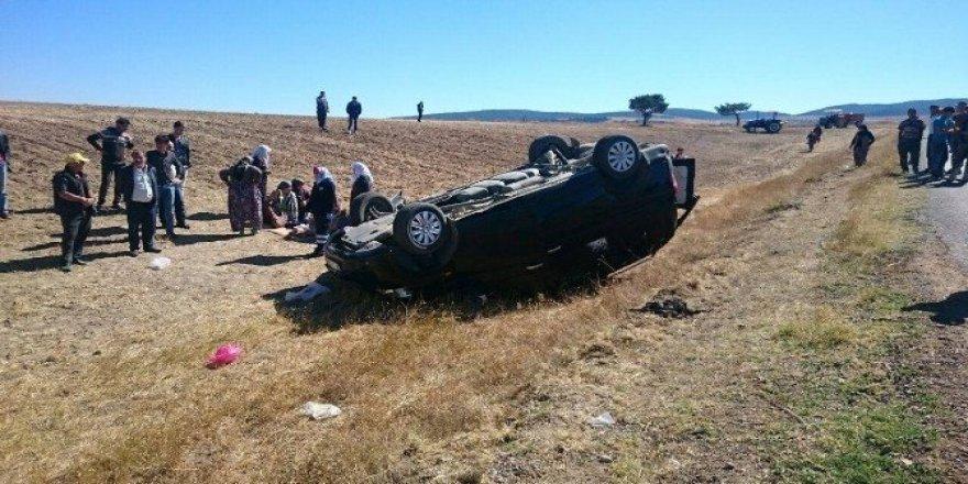 Yozgat'ta trafik kazası: 1 ölü 5 yaralı