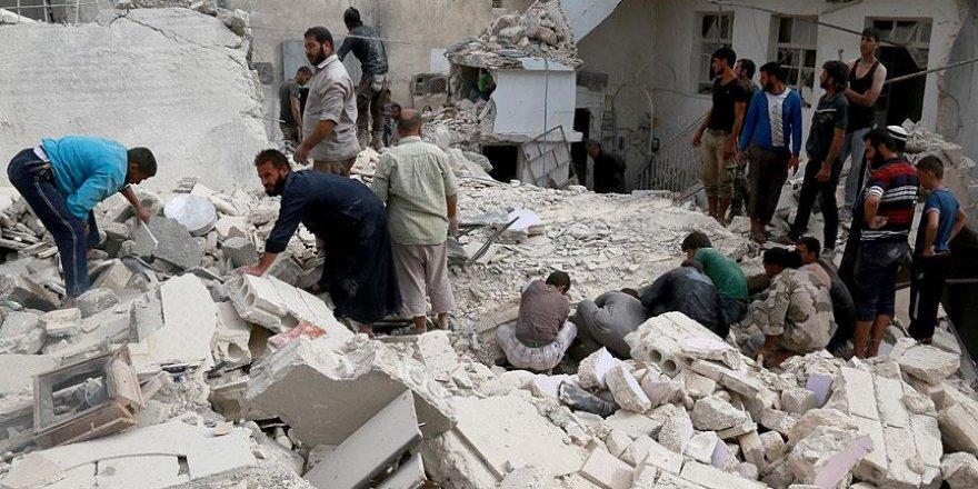 Rus jeti Halep'te sivilleri vakum bombasıyla vurdu
