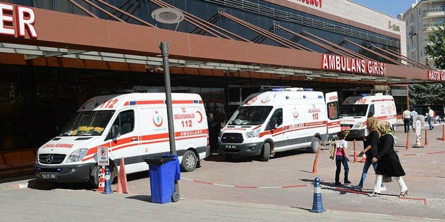Fırat Kalkanı'nda yaralanan askerler Kilis'e getirildi
