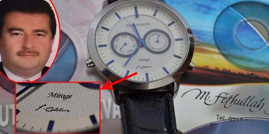 10 milyon dolara Gülen imzalı saat