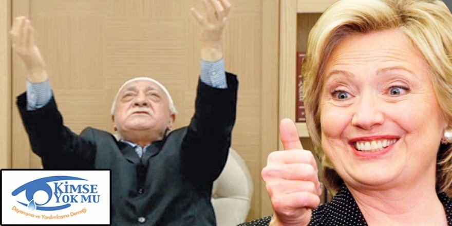 Bağışlar Hillary'ye 'kurban'