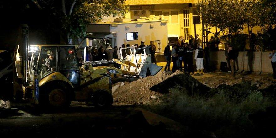 Üsküdar'da tabancaların bulunduğu alanda kazı başlatıldı
