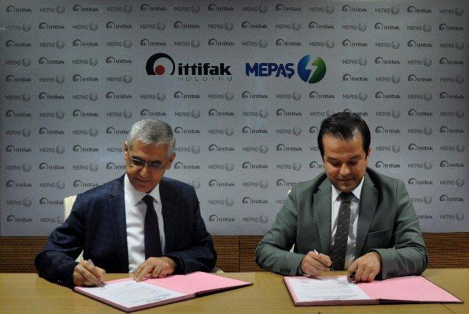 MEPAŞ ve İttifak Holding arasındaki anlaşma yenilendi