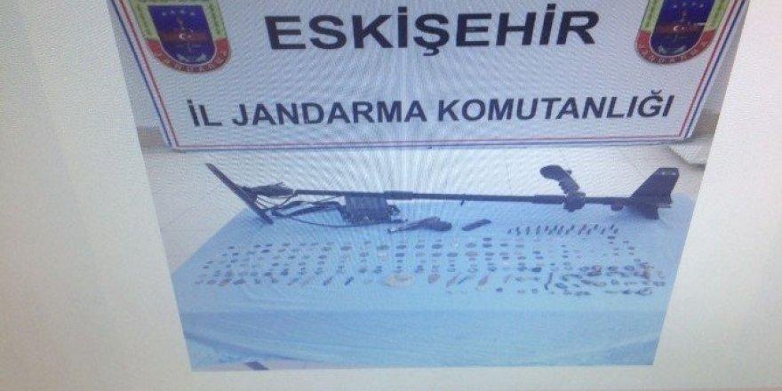 Eskişehir'de tarihi eser kaçakçılığı