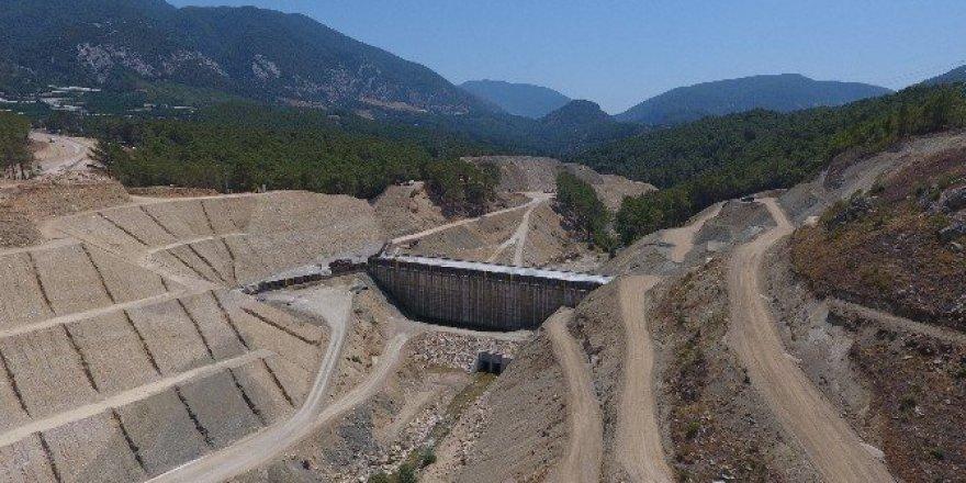 Finike Kapıçay Barajı'nın yüzde 80'i tamamlandı
