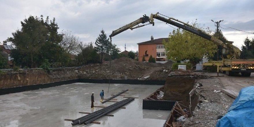 TOBB tarafından yapılacak okul inşaatı başladı